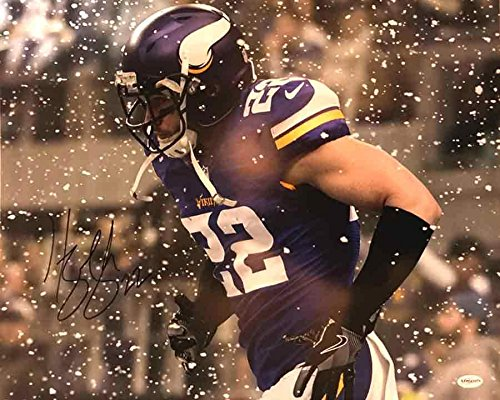 Autographed Snow - Total Sports Enterprises Harrison Smith Autographed Snow! 16x20 Photo