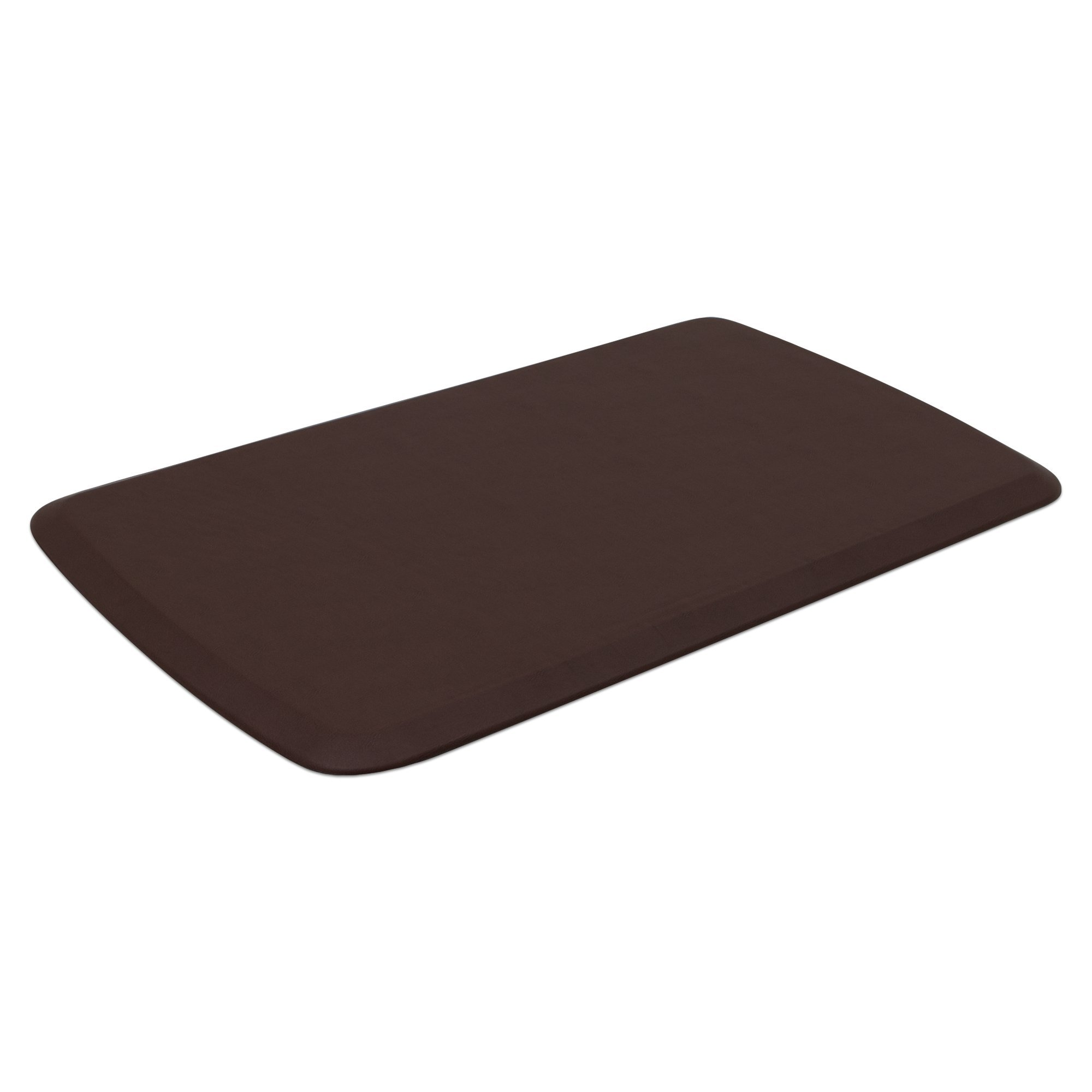 "GelPro Elite Premier Anti-Fatigue Kitchen Comfort Floor Mat, 20x36"", Vintage Leather Sherry Stain Resistant Surface with therapeutic gel and energy-return foam for health & wellness by GelPro (Image #2)"