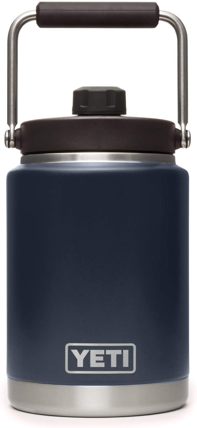 YETI Rambler Half Gallon Jug, Vacuum Insulated, Stainless Steel with MagCap