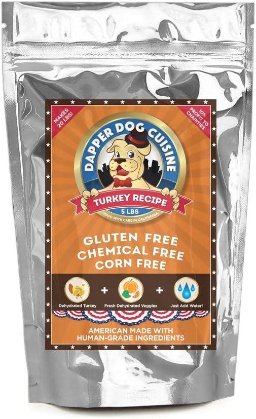 Dapper Dog Cuisine Human Grade Dehydrated Grain Free Dog Food