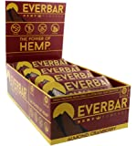 EverBar - Hemp Powered - 12g Protein Bars - Gluten-Free - Almond Cranberry - 16 Pack