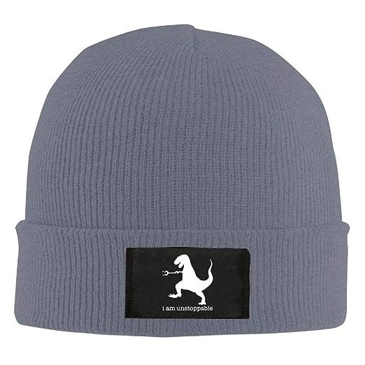 9618afc77 Amazon.com: LXXYZ b Adult Hats Unstoppable Dinosaur Men Women Wool ...
