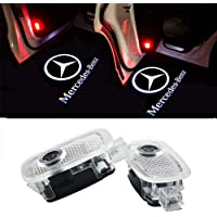 LED Car Door Welcome Logo Puddle Lights for BMW E90 E91 E92 E93 M3 E60 E61 F10 F07 M5 E63 E64 F12 F13 M6 E65 E66 E67 E68 F01 F02 E85 E86 E89 Z4 with M Logo Pack of 2 VOYOMO TM