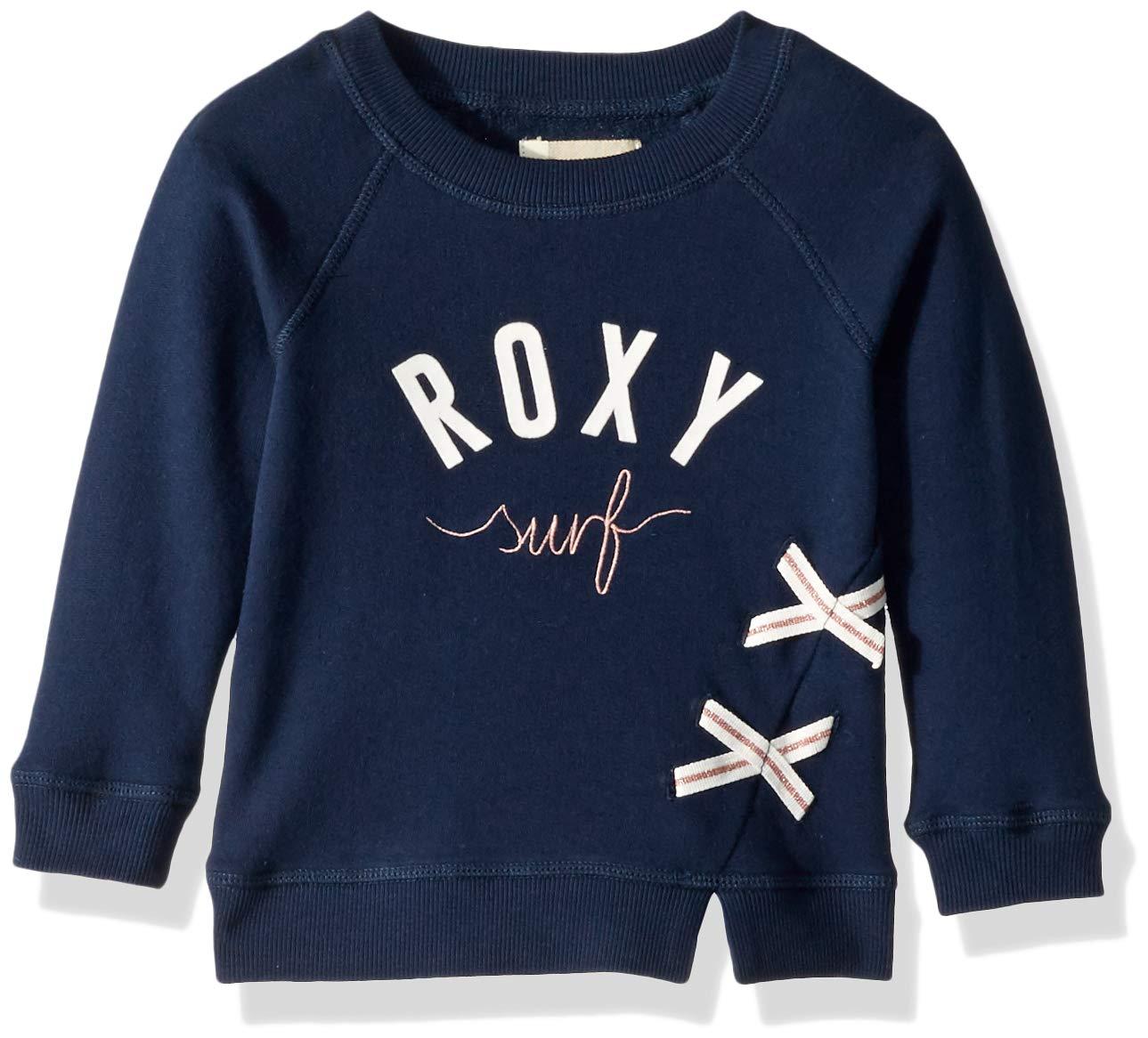 Roxy Little Ordinary Girl Pullover Sweatshirt, Dress Blues 3 by Roxy (Image #1)