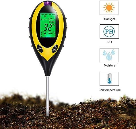 Boden Feuchtigkeit Meter/&ph Niveau Tester Werkzeug für Pflanzen Blumen Gemüse