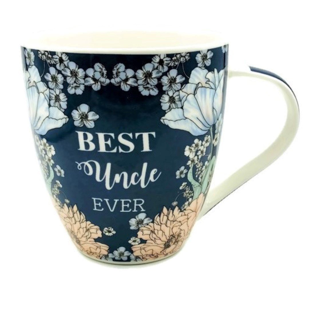 Hampstead Collection Best Uncle Ever Mug 18oz with Gift Box Packaging B58-uncle