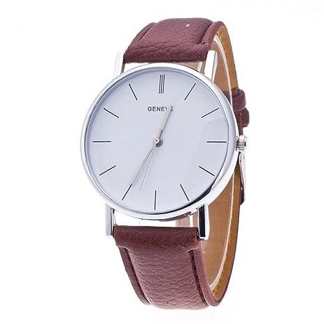 Futurelast Geneva 2017 - Reloj de cuarzo para hombre y mujer, estilo casual, de