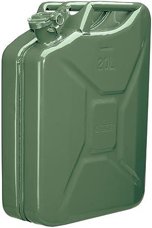 Draper 49949 20L Steel Fluid Can - Green