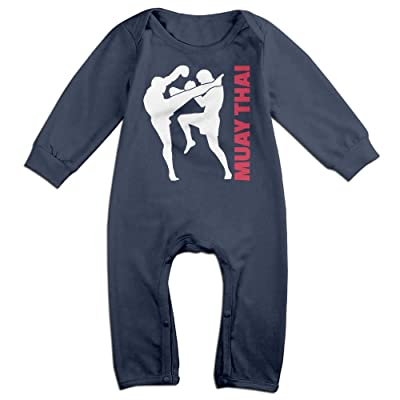 Mrei-leo Toddler Baby Boy Girl Jumpsuit Muay Thai Toddler Jumpsuit