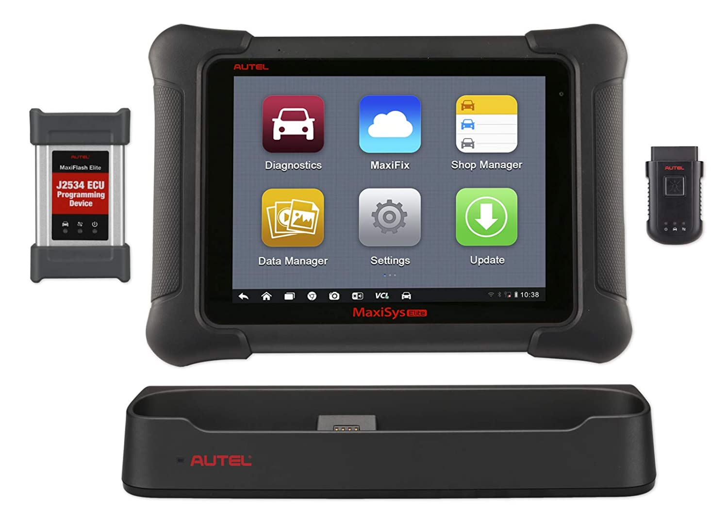 Autel Scanner MaxiSys Elite Automotive Diagnostic Tool (Upgraded Version of  MS908P Pro) with Wifi Bluetooth Full OBD2 Automotive Scanner with J2534