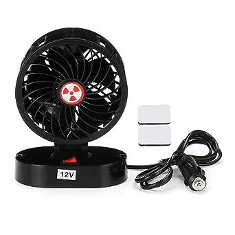 ExcLent 12V 30W Mini Ventilador Portátil Para Automóvil Ventilador ...