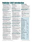Microsoft Publisher 2007 Introduction Quick Reference Guide (Cheat Sheet of Instructions, Tips and Shortcuts - Laminated Card), Beezix Inc, 1934433756