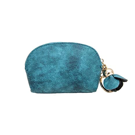 ☀️Amlaiworld Moda bolsos mujer pequeños baratos Monedero Mini billetera de cuero para mujer Portatarjetas pequeño