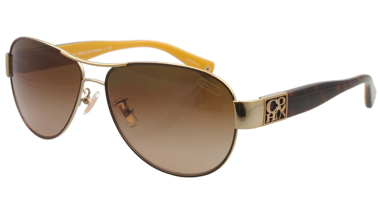 ec426460312fa Coach Charity Hc7009Q 905613 Gold-Brown   Dark Brown Gradient   Amazon.co.uk  Luggage