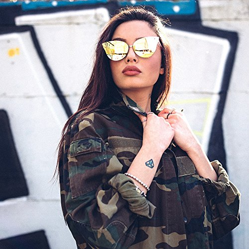 FRIDA mujer Gafas de degradadas espejo sol Negro Degradado TWIG Negro OO6qTt