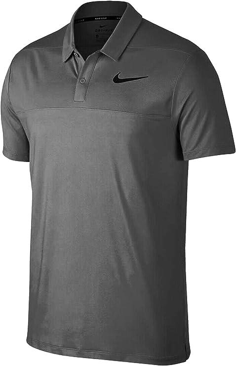 Nike Dri Fit - Polo de Golf (Bloque de Color), Large, Gris: Amazon ...