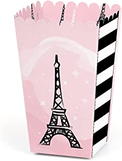 product image for Paris, Ooh La La - Paris Themed Baby Shower or Birthday Party Favor Popcorn Treat Boxes - Set of 12