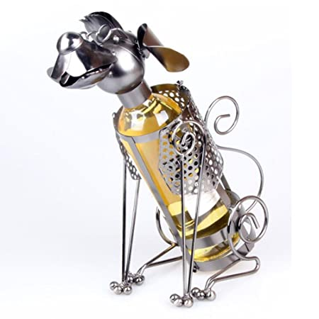 Ancaixin Fashion Dog Design Wine Bottle Holder Creative Wine Rack