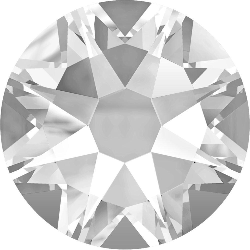 スワロフスキー XIRIUS ラインストーン ホットフィックス (2078) SS16 - クリスタル 裏面シルバーフォイル x 1440粒 B00SQ2Y52S