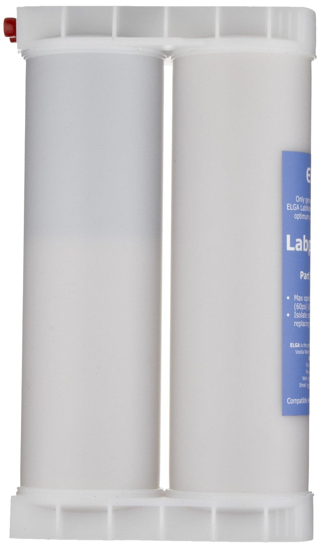 Elga LC184 Labpure S3 Purification Cartridge Low Ionic, For Purelab Ultra by Elga