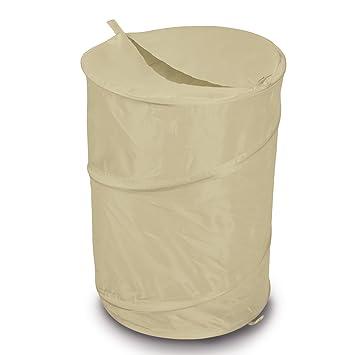 Siehe Beschreibung Leichter, Faltbarer Pop-Up Wäschekorb integrierte ...