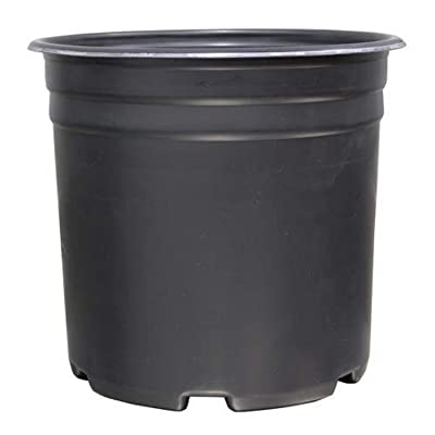Gro Pro Thermoformed Nursery Pot 5 Gallon, 5-Pack : Garden & Outdoor