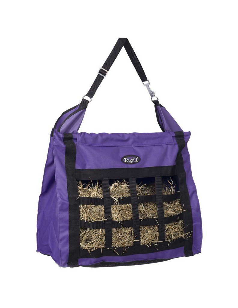 Tough-1 Hay Bag with Dividers Purple