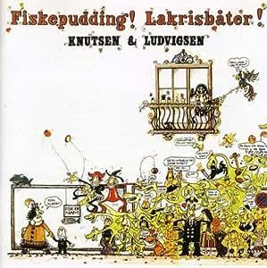 Fiskepudding!Lakrisbater!