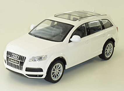 RC Audi Q7 (White - 40 mhz) coche teledirigido RC coche de Carreras *