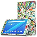 """Lenovo Tab 4 8"""" Case - MoKo Ultra Compact Premium Slim Folding Stand Cover Case for Lenovo Tab 4 8 Inch HD Tablet 2017 Release"""