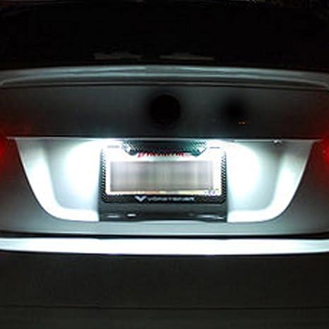 K-Bright LicensePL-V Luces para Placa de Matrícula de Coche: Amazon.es: Coche y moto