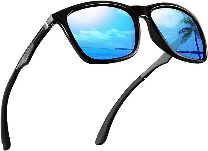 Men's Brand New Clear Polarized Reflective Incognito Renegade Sunglasses