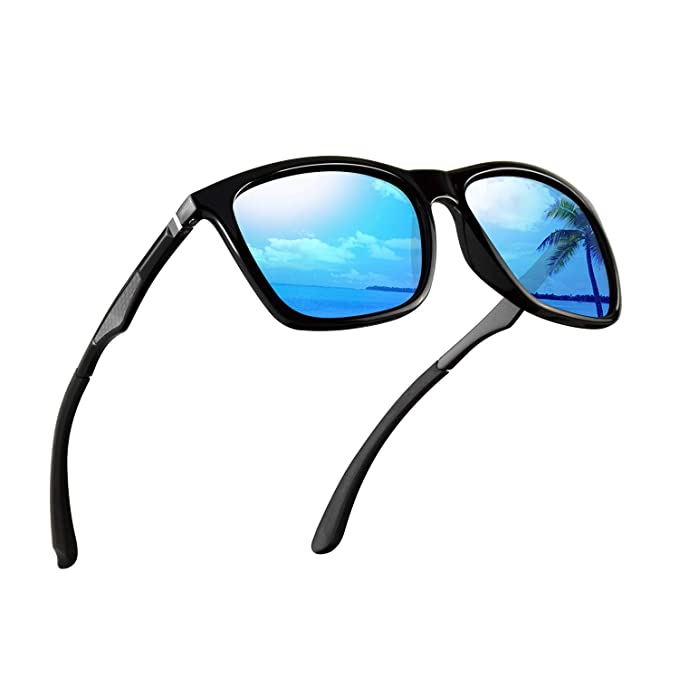 0fdedd6cd3 Polarized Sunglasses for Men Aluminum Mens Sunglasses Driving Rectangular  Sun Glasses For Men Women.