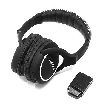 Makro Racer 2 2, 4 GHz inalámbrica Bluetooth auriculares y memoria: Amazon.es: Jardín