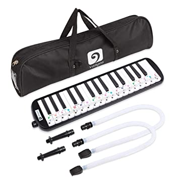 Eastar 37 Key Melodica Instrument with Mouthpiece Air Piano Keyboard,Carrying...