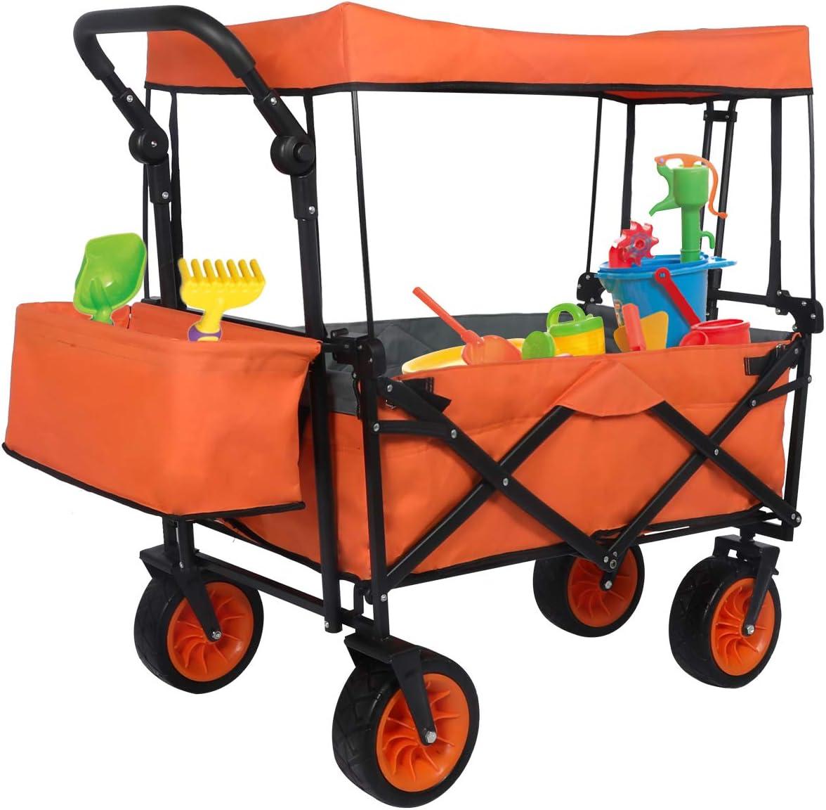 GBU Push and Pull Folding Best Portable Wagons