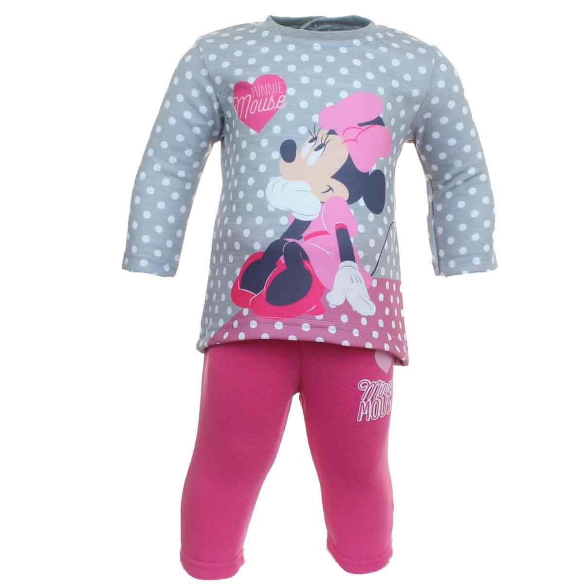 Minnie Mouse Juntos Chándal Mangas largas Bebé Niñas: Amazon.es ...
