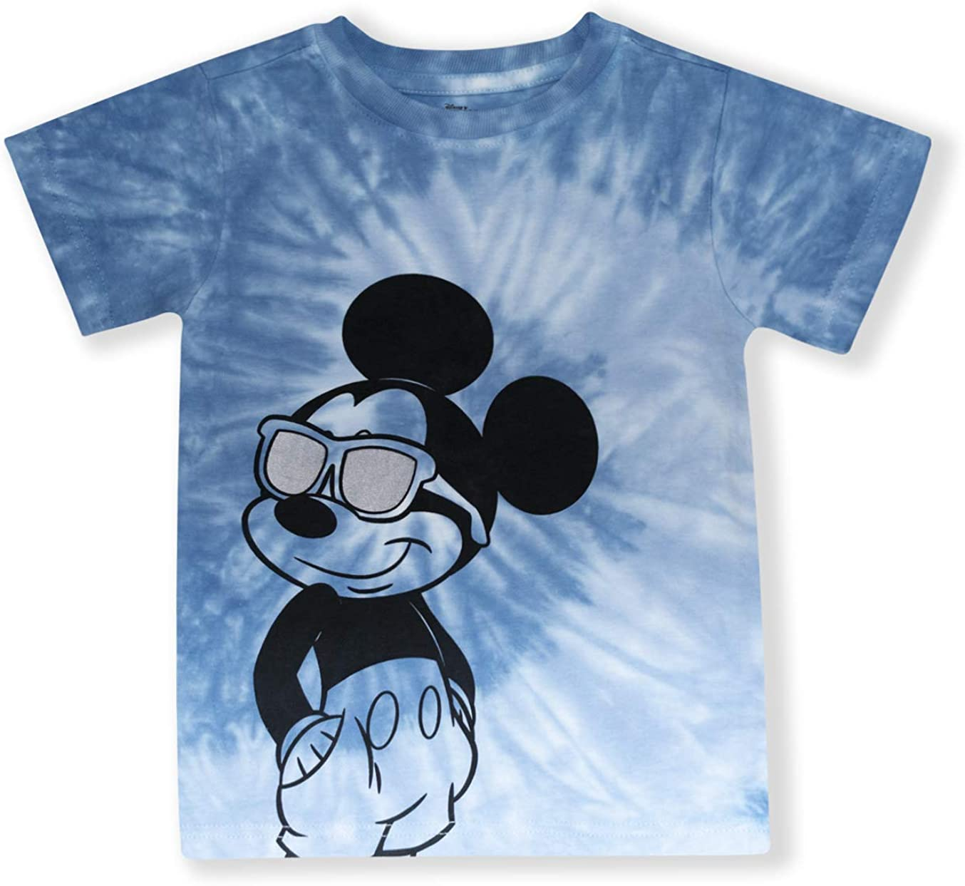Disney Mickey Mouse Shirts for Toddler Boys, Tie Dye Kids Mickey Mouse Clothes