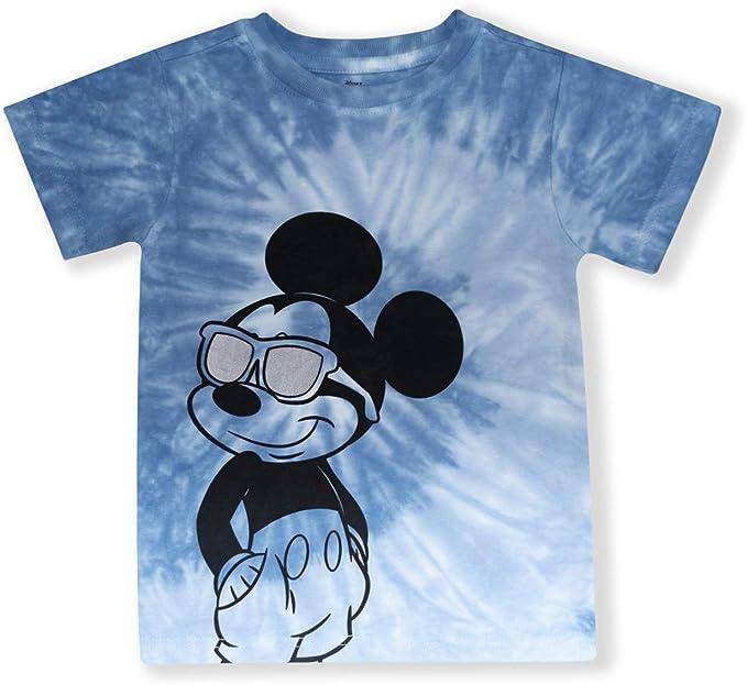 Disney/'s Donald Duck Run Pattern Kids Gift Boy Girl Short Sleeves Cotton T-Shirt