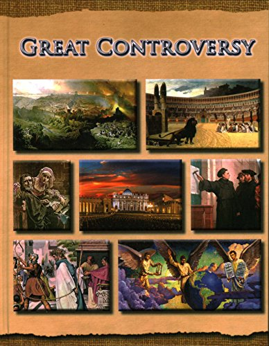 The Great Controversy Between Christ and Satan (Fully Ilustratrated with 830 Pictures, 47 maps, many charts) Including: The Crucifixion: Historical and Medical Facts