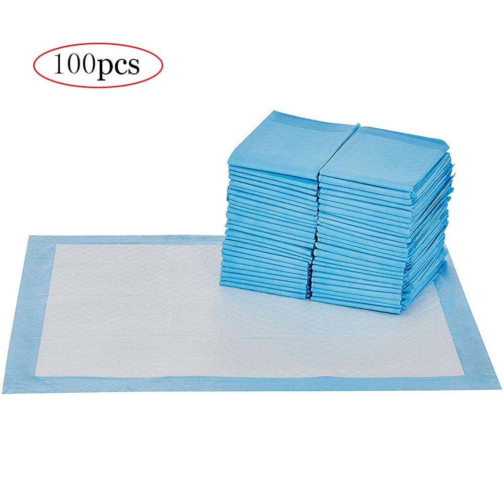 100 X Dog and Puppy Pads,Superior Absorbent,Waterproof,Odor Control