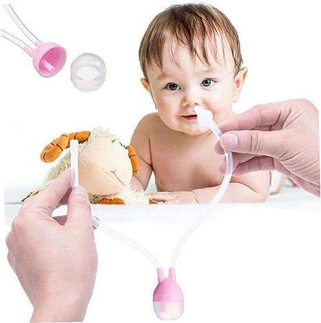 Bebé aspirador nasal de la nariz del bebé limpiador boca de ...