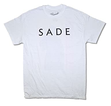 7abf20f3 Amazon.com: Real Swag Inc Sade Baby Father Mens White T Shirt Adult ...