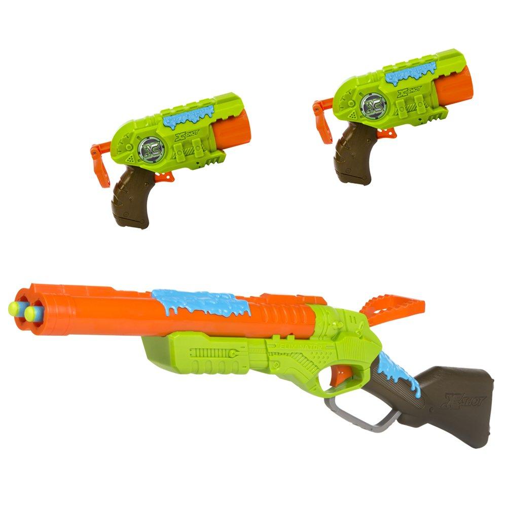 Zuru - Bug Attack Rifle y 2 pistolas - 24 dardos y 5 Creepeez (ColorBaby 44205): Amazon.es: Juguetes y juegos