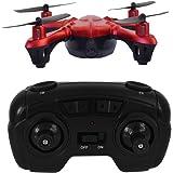 Hover-Way 2.4 GHZ Sky Spy Micro Drone with 480P Camera & 8GB SD - Pocket Size Video Nano Drone Red