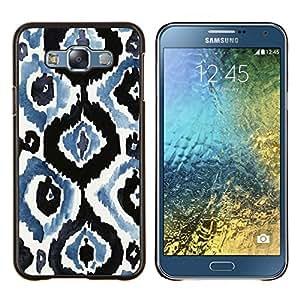TECHCASE---Cubierta de la caja de protección para la piel dura ** Samsung Galaxy E7 E700 ** --Wallpaper rústico vintage