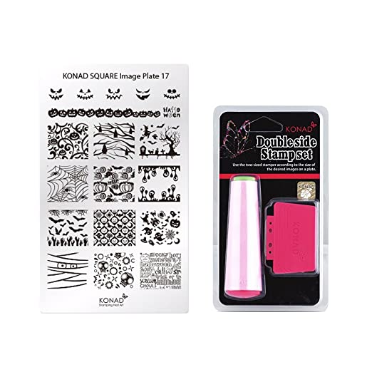 Amazon. Com: konad stamping nail art french f kit pick your plates.