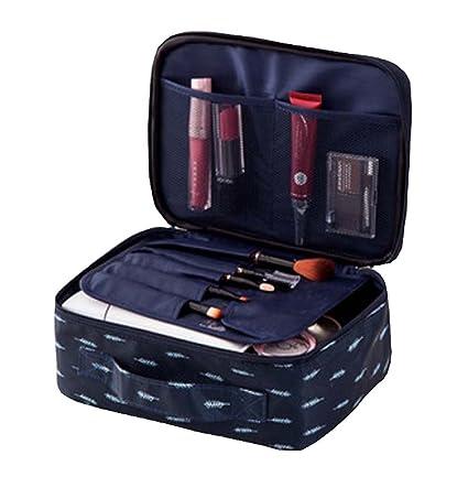 ad0c3761497a Amazon.com: DRAGON SONIC Large Capacity Travel Cosmetic bag,Makeup ...