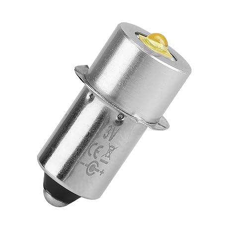 Eboxer Bombilla de Actualización LED de Alta Potencia 3W P13.5S Bombilla Linterna LED Reemplazo