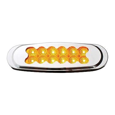 GG Grand General 76705 Amber/Amber Light (Ultra Thin Matrix Style Am/Am Spyder 12LED Dual Funt.): Automotive